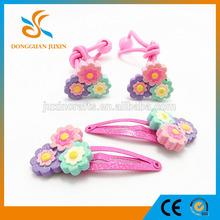 EN-71 hairpin hair clip kids ponytail holder hair accessories for baby girls