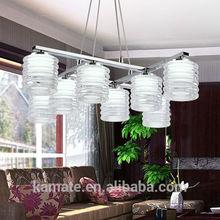 Elegant residential modern led pendant lighting 24w for indoor Hotel