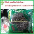 Cocina de alta calidad de limpieza estropajo de acero inoxidable