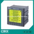 Amperímetro Digital y voltímetro medidor de energía multifuncional