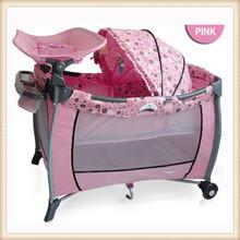 folding best selling baby crib bedding set baby folding playpen baby crib