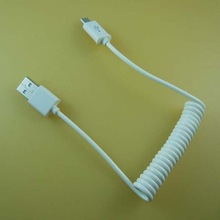 alibaba export white car charger cable for car charger