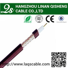 high quality competitive price 50 ohm ISO9001 , CE and RoHS coaxial cable rg58 for communication