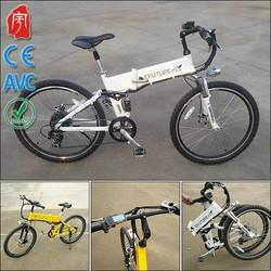 YK-F99044 China Manufacturers CE With Li Battery Folding Electric Bike