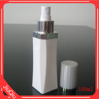 NEW produc 100ml plastic PETG square Olive oil bottles use for cosmetic or perfume