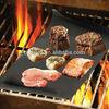 Non-stick BBQ Grill Mats/Fireproof Charcoal BBQ Grill Mat