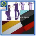 100 algodão cores pantone tecido para o vestuário de yoga