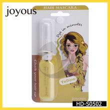 EC No 1223/20092 natural hair color yellow professional temporary hair cream