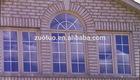 Germany style PVC arch Window/PVC window