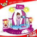juguetes de importación desde china famosas marcas de juguete productos de publicidad niña de bloque de construcción de juguete mini casa de muñecas de plástico para niños 20122