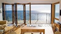 High quality well design aluminum veranda folding doors