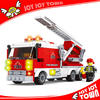online market new trend product stacking block toy fire fighting toys truck building bricks Fireman figures 30111