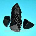 Black pe plástico protetor de canto/sofá de canto protecter