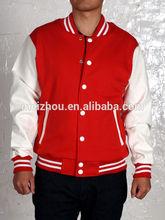 Hot Men's Jackets, Varsity Baseball for Men Jacket with Two Pockets