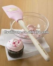 Eco-friendly Nonstick Silicone Princess Spatula Approved of FDA &LFGB Standard