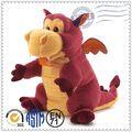 Eco- ambiente de venta más caliente felices los niños dinosaurio de juguete títeres