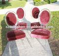 Moderno acrílico al aire libre& jardín silla con cojín