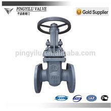 carbon steel lever gate valve