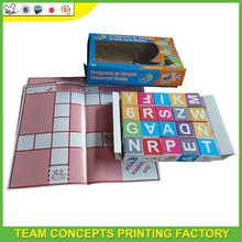 3d paper puzzle arabic alphabet puzzle