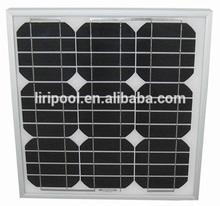 25W small mono solar panels