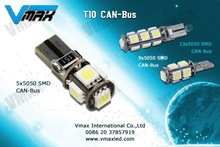 T10 canbus 5SMD led light car accessories for hyundai i30 wholesale