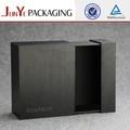 Empaque flexible para velas, caja de regalo decorativa con cajón negro de madera