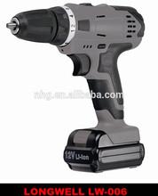 18V li-ion cordless drill / cordless Electric Drill / cordless power drill