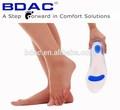 SynFit orthèses semelles silicone soins des pieds gel insoles en silicone