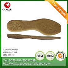 ladies flat rubber shoe sole