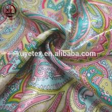 Moda impresso barato cetim tecido étnica