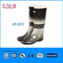 ladies fashion rubber rain boots wholesale