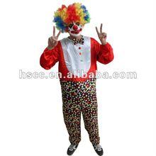 hotsale de carnaval fiesta cosplay adulto trajes de payaso