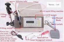 Digital Control Pump Liquid Filler/ GFK-160 liquid filler (3-3000ml) /GFK-160 liquid filling machine