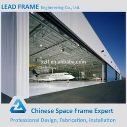 Modern design steel structure hangar building