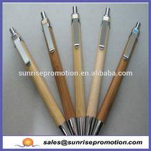 environmental engraving logo promotional bamboo pen
