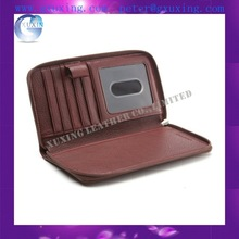 nice good quality PU leather Checkbook cover with an inside slit/pocket