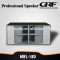 """Profissional grf 18"""" caixa de som subwoofer"""