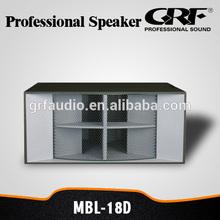 "GRF professional 18"" subwoofer speaker box"