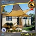 Gsm 160 3.6m 3.6m x x 3.6m triángulo cortina del sol vela patio toldo awned calidad trigonométricas agua- una prueba vela de tela