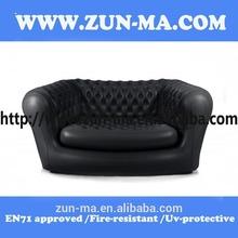 2015 Hot sale fashionable plastic pvc air Inflatable Sofa