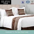 Hôtel de luxe ensembles de literie, 100% drap de coton ensemble de lit linge de maison hôtel textile hôtel