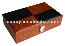 Unique Design Blank Leather Watch Case