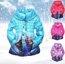 Children winter coat for wholesale frozen coat