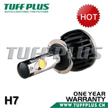 Autos H7 single beam led headlight bulbs