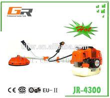 JR-4300 2-stroke engine gardening tools farm mahines for grass cutting brush cutter
