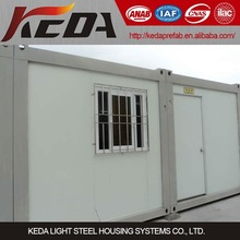 Decorated Container House, Accommodation Container,prefabricated steel Office container
