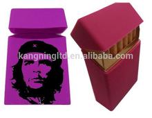Hot selling eco-friendly silicone rubber cigarette case,cute cigarette boxes