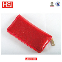 2015 Fashion bag Colorful Silicone Jelly PVC Candy bag Smart Ladies Wallet with Glitter for Young girl Clutch wallet