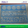 Cake decorating accessories silicone lace mat baking supply