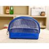 2015 hot sell made in china fashion beautiful modella blue pu cosmetic bag